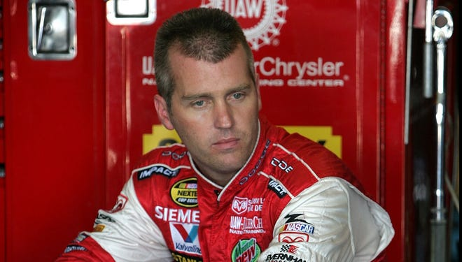 Jeremy Mayfield was kicked off his land in Catawba, N.C., Thursday.