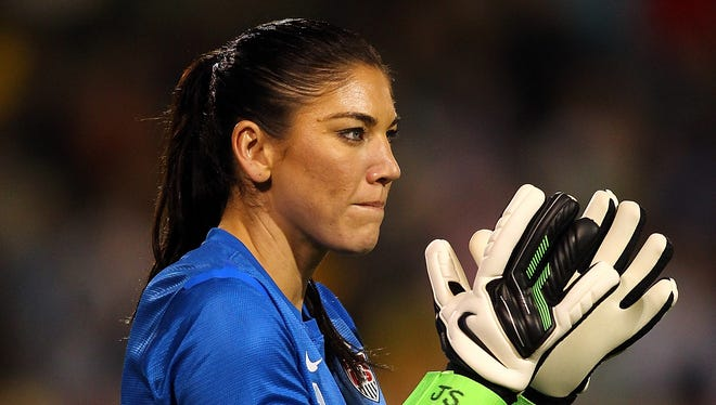 Hope Solo will miss 3-4 months after having wrist surgery