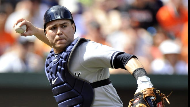Russell Martin hit a career-high 21 home runs for the Yankees in 2012.