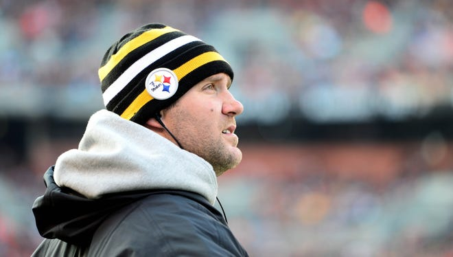 All signs point toward Steelers QB Ben Roethlisberger again being a spectator Sunday at Baltimore.