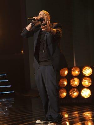 Vino Alan performs on Wednesday's 'X Factor.'
