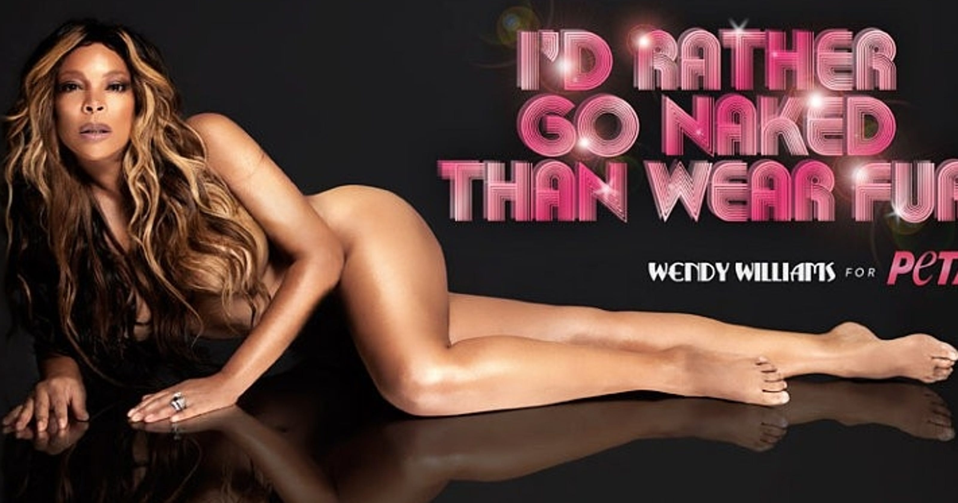 Wendy Williams Goes Naked For Peta-1615