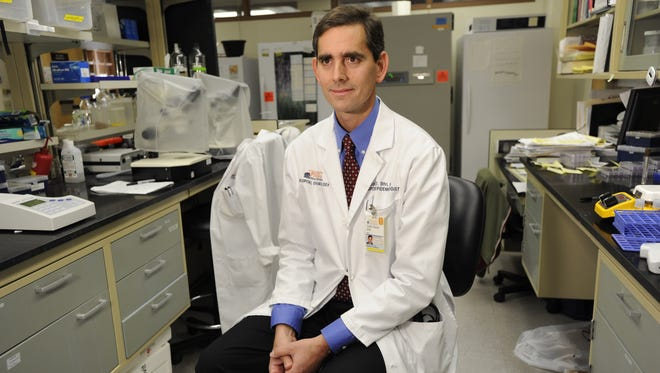 University of Virginia Health Services doctor Costi Sifri had to deal with the superbug bacteria.