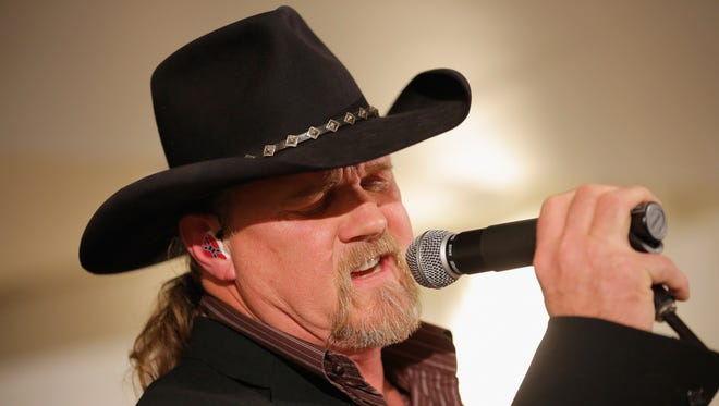 Trace Adkins peforms at Saks Fifth Avenue Holiday Window Unveiling on Nov. 19 in NYC.