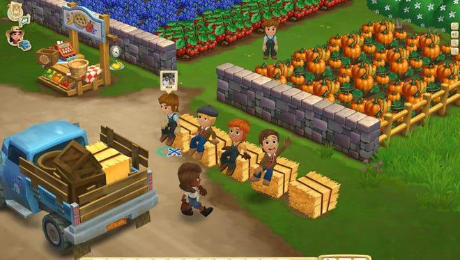 A screenshot from Zynga's 'Farmville 2.'