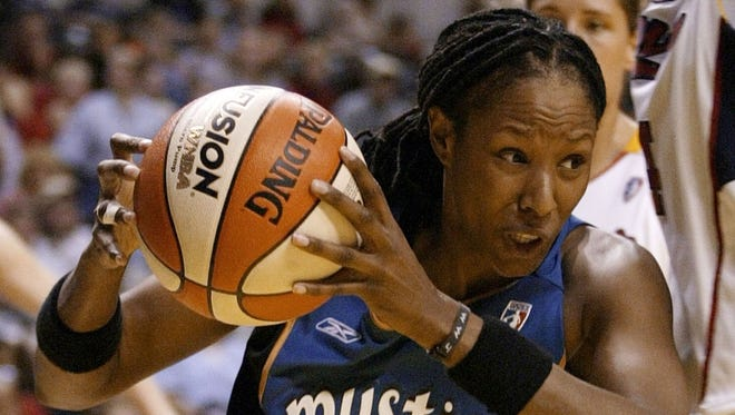 Chamique Holdsclaw played 11 seasons in the WNBA.