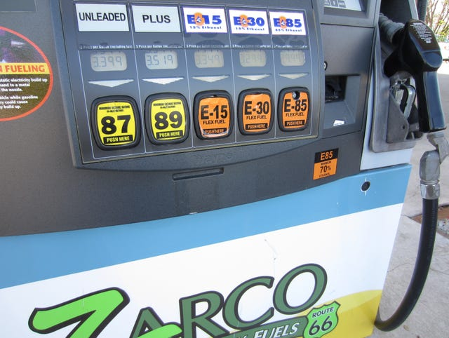 AAA warns E15 gasoline could cause car damage