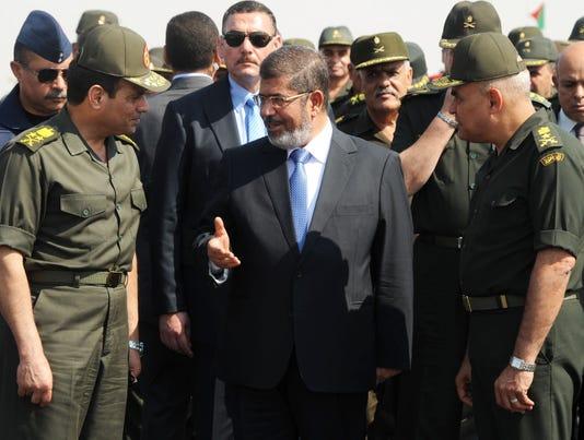 Egypt military Morsi