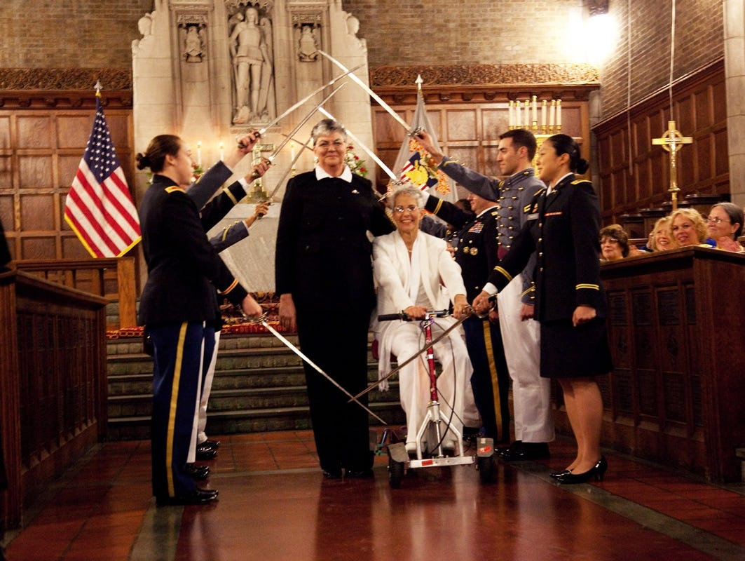 Homosexual marriage in the military