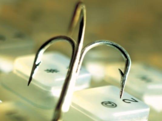 cybercrime fish hook