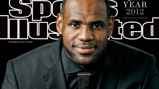 Lebron James will appear on the cover of the Dec. 10 edition of Sports Illustrated which honored the Heat forward as Sportsman of the Year.