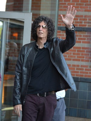 Howard Stern attends the 'America's Got Talent' show at New Jersey Performing Arts Center on July 2 in Newark.