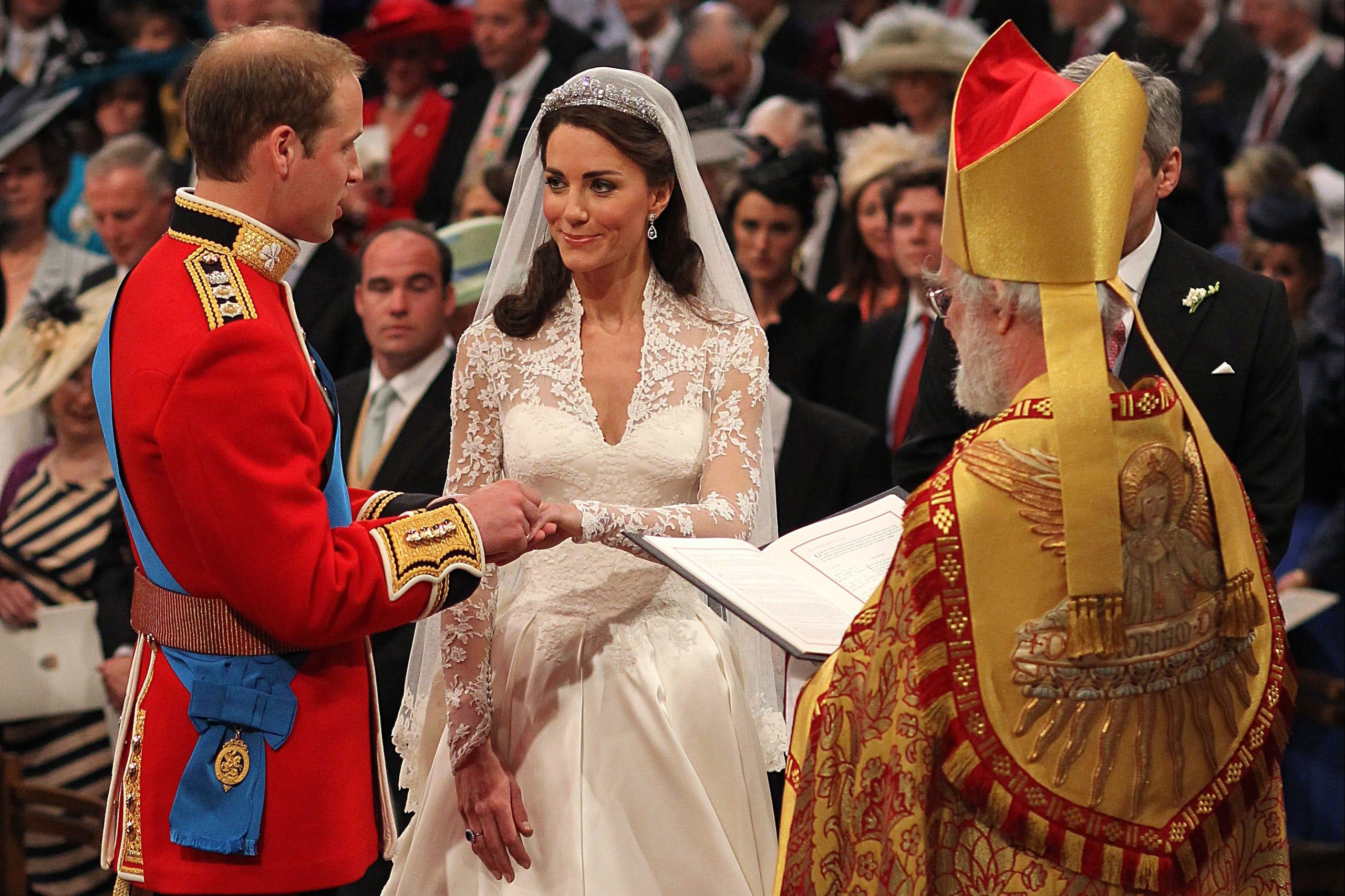 Prince William Wedding.Prince William And Duchess Kate S Stunning Wedding Photos