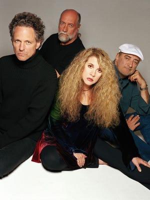 Lindsey Buckingham, left, Mick Fleetwood, Stevie Nicks and John McVie of Fleetwood Mac are hitting the road once again.