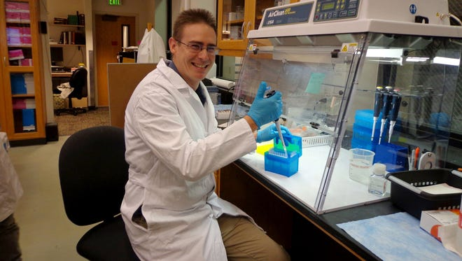 Scientist Rob Knight, of the University of Colorado, Boulder, is leading the American Gut Project.