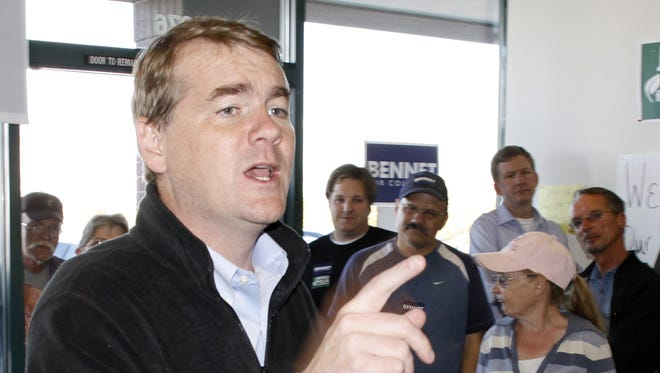 Sen. Michael Bennet, D-Colo., earned his first full term in 2010 by defeating Republican Ken Buck.