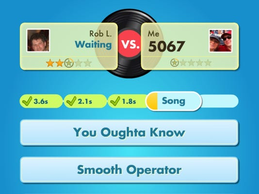 SongPop' chimes in atop Facebook game chart