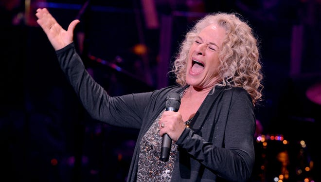 Carole King performs during a celebration of her and her music to benefit Paul Newman's The Painted Turtle Camp on Dec. 4 in Hollywood.