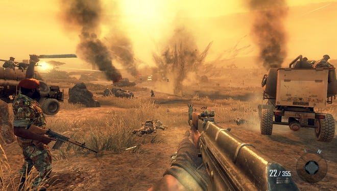 A scene from 'Call of Duty: Black Ops II.'