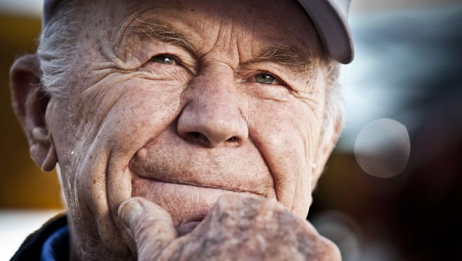 American aviation icon Gen. Chuck Yeager.