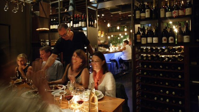 Bar Avignon staff is skilled at wine and food pairings.