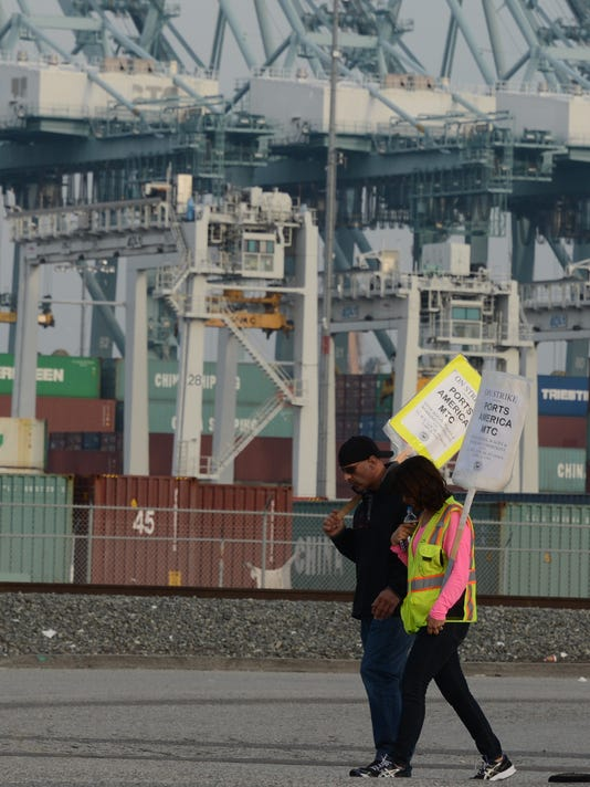 LA port strike