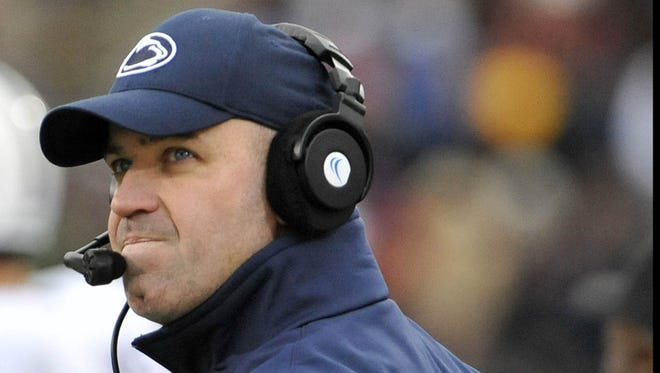 Penn State Nittany Lions head coach Bill O'Brien is Mike Lopresti's pick for college football's coach of the year.