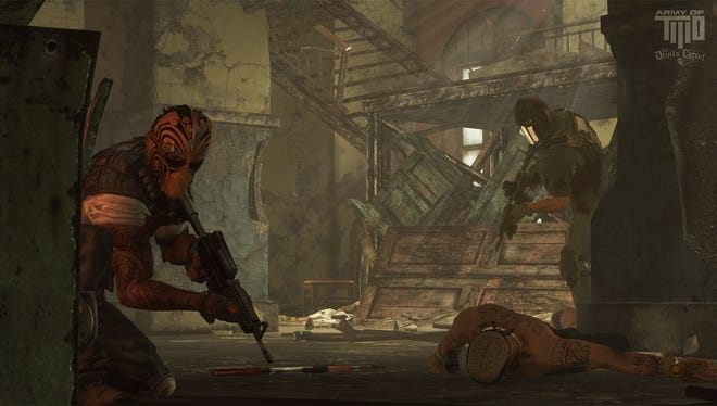 A screen shot from the upcoming video game 'Army of Two The Devil's Cartel'.