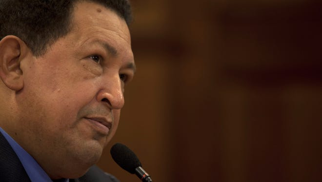 Venezuela's vice president says Hugo Chavez's condition is improving.