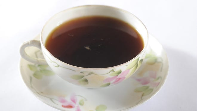 Brewed tea has a relatively high level of fluoride, researchers say.