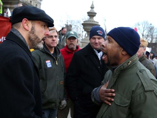 Mich Governor Signs Anti Union Bills After Protests