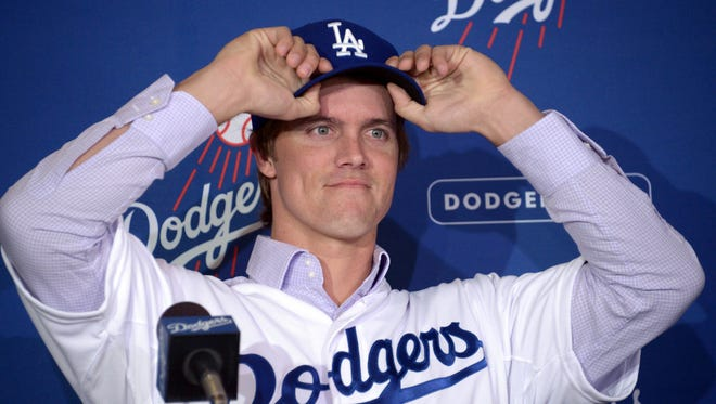 The Los Angeles Dodgers shelled out a $147 million, six-year contract to free agent pitcher Zack Greinke.