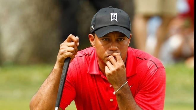 Tiger Woods will win the Masters in 2013, the fifth of his career.