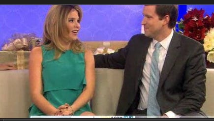 Jenna Bush Hager and husband Henry share their happy news on the 'Today' show.