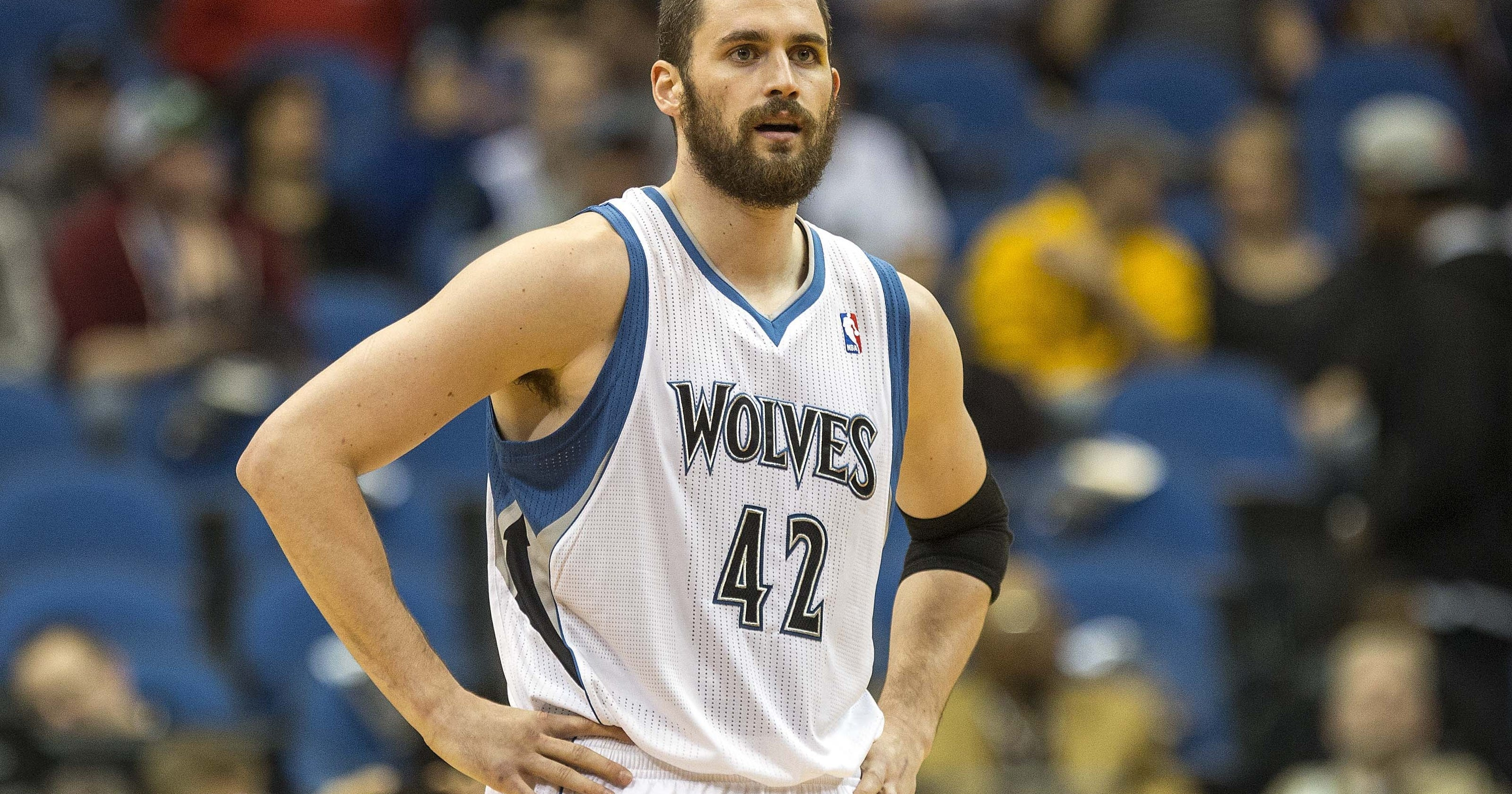Kevin Love stands by comments but is happy with Timberwolves