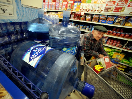 Disputes spring up over bottled water sources