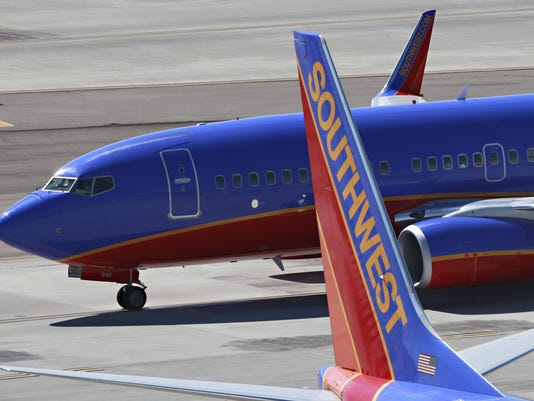 southwest airlines 121412