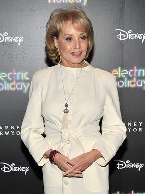 Barbara Walters on Nov. 14 in NYC.