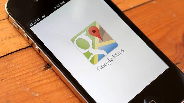 usatoday reports google maps iphone