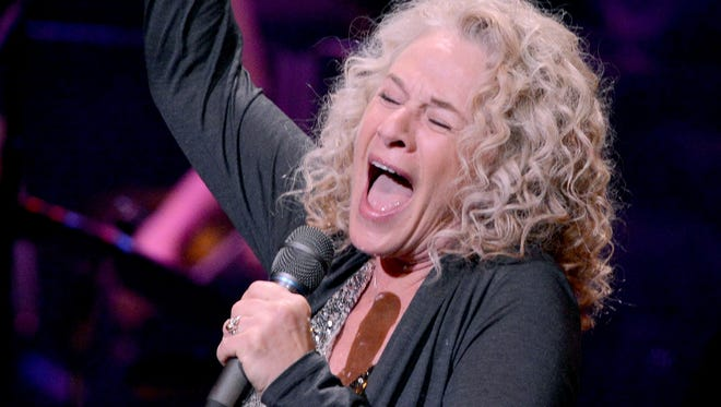 Carole King performs  during a celebration of her music at the Dolby Theatre in Hollywood in December.