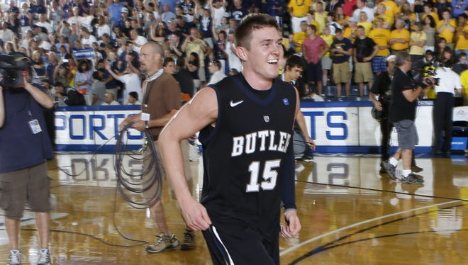 Rotnei Clarke's buzzer-beater gave Butler a 71-71 win over Marquette at the Maui Invitational in November.