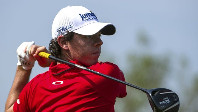 Rory McIlroy won't be wearing Oakley  or hitting with Titleist clubs next year..