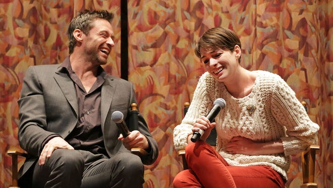 Hugh Jackman and Anne Hathaway answer questions about the making of 'Les Miserables.'