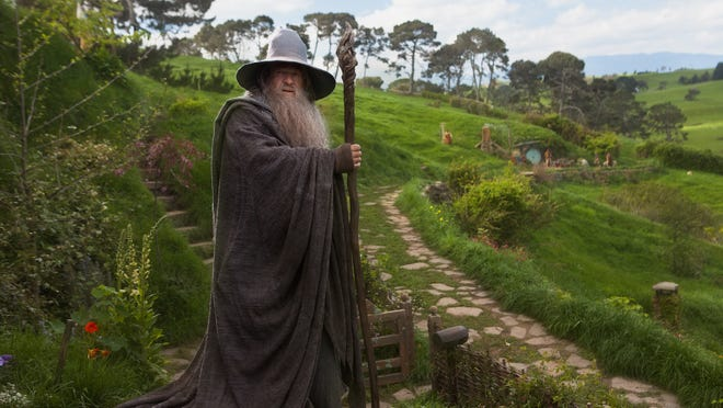 'The Hobbit,' with Ian McKellan as Gandalf, ruled the box office.