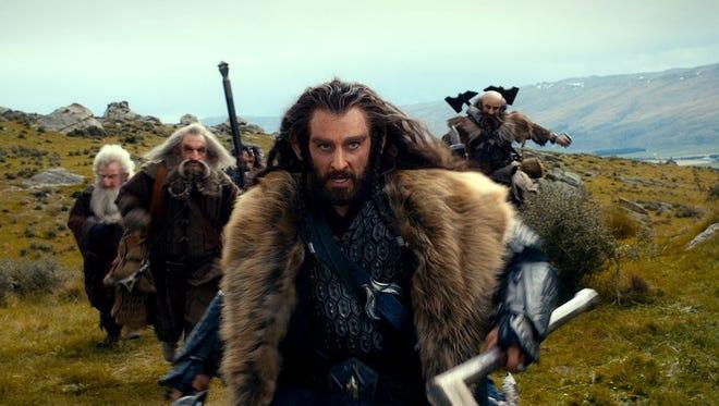 Richard Armitage plays the fierce, complex dwark warrior Thorin Oakenshield in 'The Hobbit.'