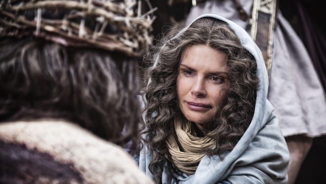 Roma Downey, whol plays Mother Mary in History's 'The Bible,' is also an executive producer.