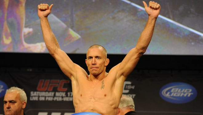 Georges St-Pierre will fight Nick Diaz next because that's what he wants.