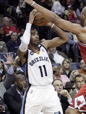 Mike Conley had 17 points as the Grizzlies got their second straight win.