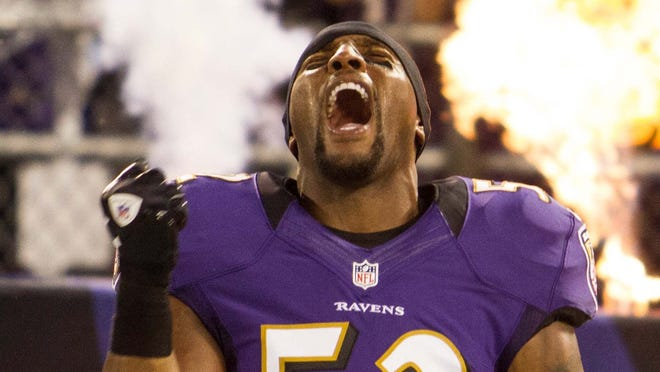 In addition to being a surefire Hall of Fame linebacker, Ray Lewis has become known for his fiery pregame speeches.