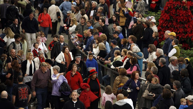 If you're traveling around the Christmas holiday, you should give yourself plenty of extra time to get to the airport and to navigate long bag-check and security lines.